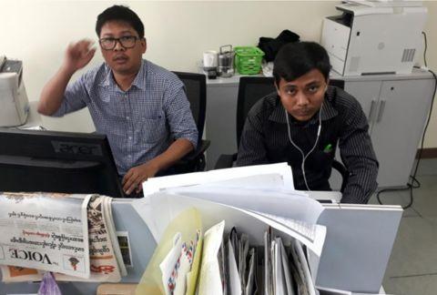记者在缅7年监禁 缅方称:违反缅甸国家保密法
