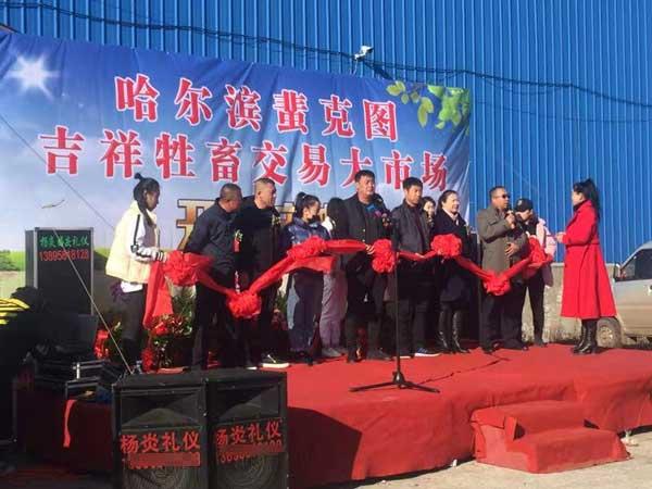 哈尔滨吉祥牲畜交易市场盛大开业